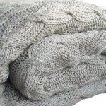Химчистка большого вязанного мохнатого шерстяного шелкового пледа стирка в прачечной